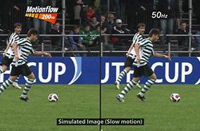 Công nghệ  xử lý hình ảnh chuyển động MotionFlow XR 200