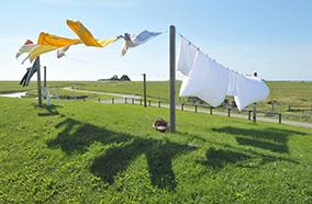 Tiết kiệm thời gian phơi quần áo