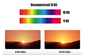 Công nghệ Video Processing 10-bit
