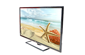 The new design of ultra-slim and modern TCL