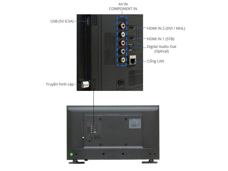 TIVI LED Samsung UA32J4303-32, Full HD 100Hz