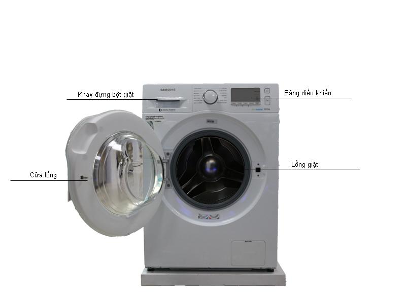 Máy giặt  Samsung  WW10J6413EWSV - 10.5kg
