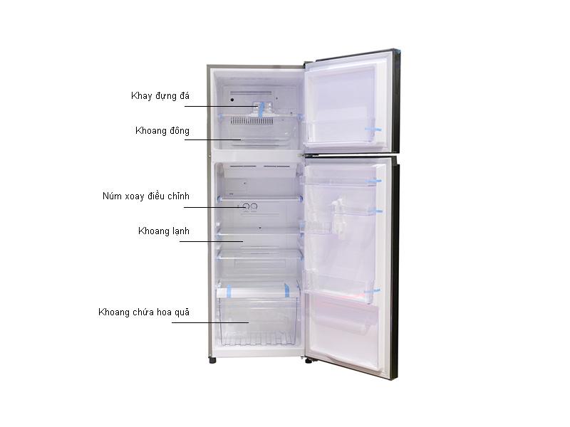 Tủ lạnh Toshiba T39VUBZDS- 330 lít - Inverter,Màu ghi