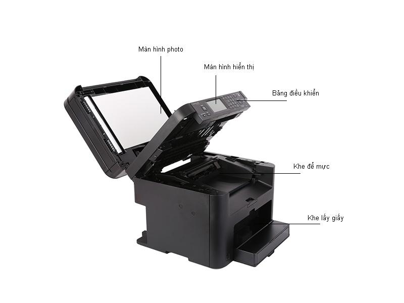 Máy in laser Đa chức năng  Có Fax  Canon MF215