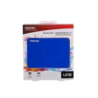 Ổ cứng di động 1TB Toshiba Canvio Connect - Blue