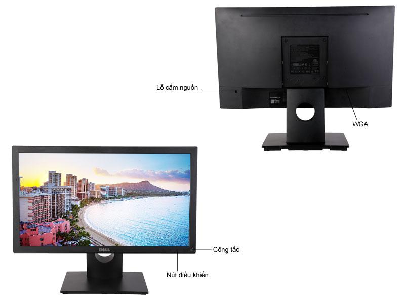 Màn hình máy tính LED Dell E2016HV -  19,5 LED1600 x 900VGA3yrs