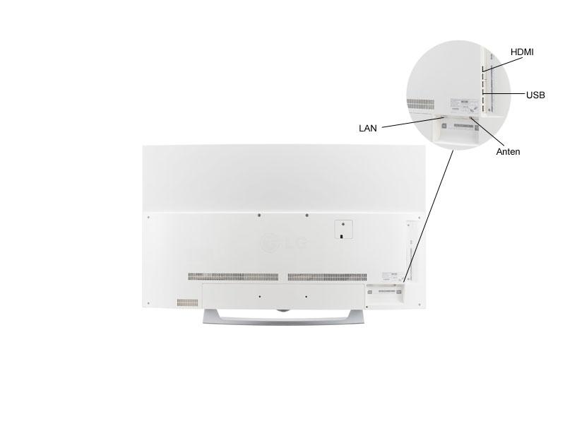 TIVI OLED 3D LG 55EG910T-55,Full HD