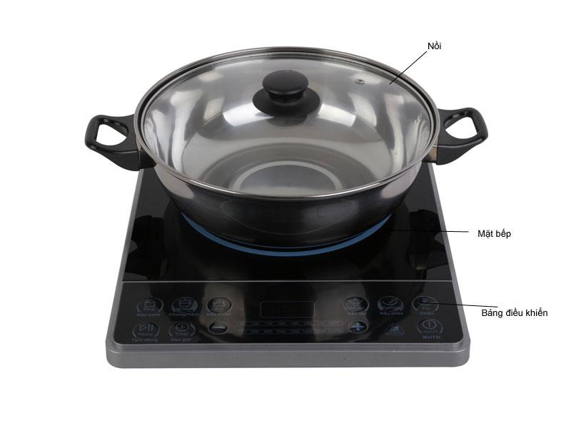 Bếp từ MIDEA MIT2115DA, 2100W