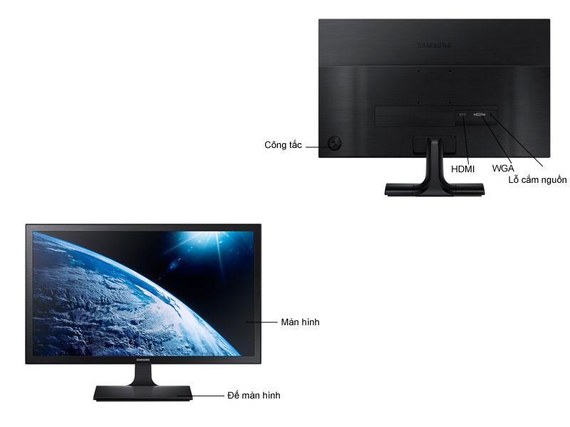 MÀN HÌNH LED SAMSUNG LS19E310HYMXV 18.5Inch LEDD-subHDMI