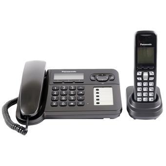 Máy điện thoại Dect để bàn kết nối tay con KX-TG6461