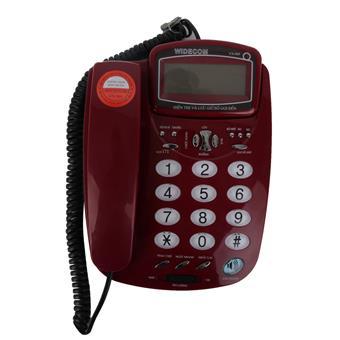 Máy điện thoại để bàn Widecom VN969 Đỏ - VN969R
