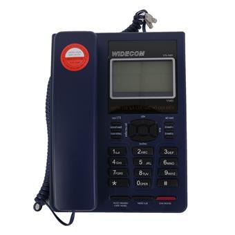 Máy điện thoại để bàn Widecom VN949 Xanh tím - VN949BL