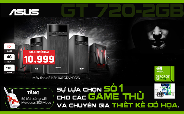 banner ASus Game thủ