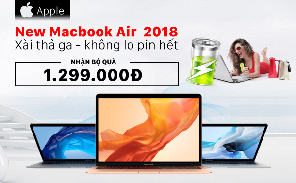 IT Mua Macbook Air 2018