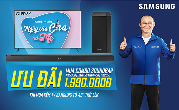 AT COMBO SOUNDBAR SAMSUNG 43