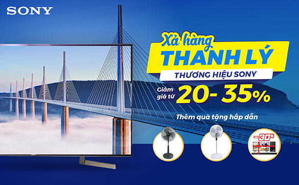 DT Xa hang thanh ly Sony