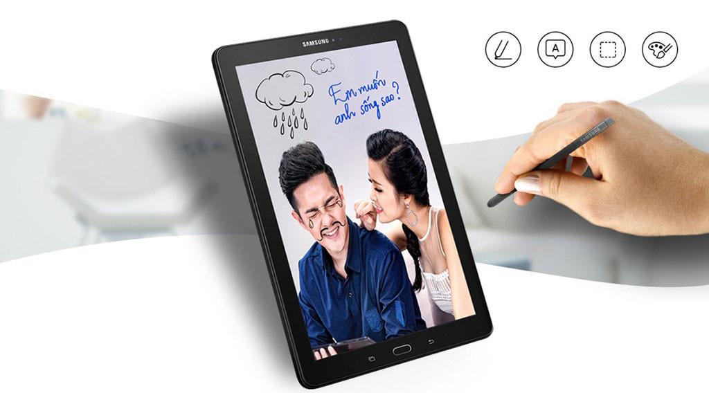 Thỏa sức sáng tạo với bút S Pen trên Galaxy Tab A (2016) thế hệ mới.