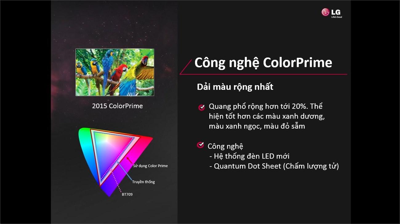 Tăng cường dải màu ColorPrime