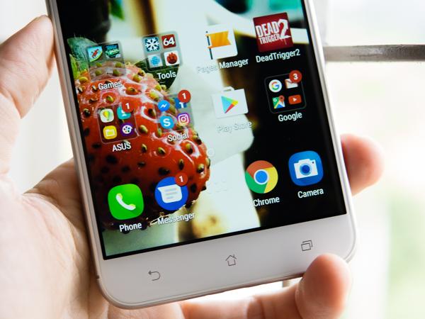 Cận cảnh Smartphone Asus ZenFone 3 Max 5.5 Inch
