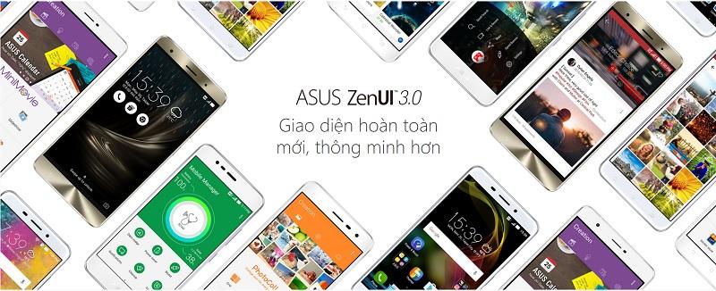 Tìm hiểu hệ điều hành Asus ZenUI 3.0