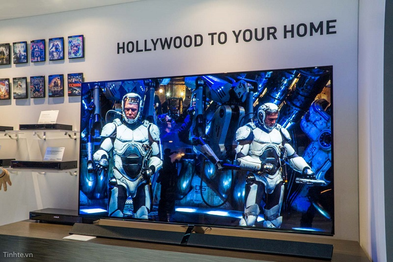 Panasonic Giới Thiệu Tivi OLED EZ1000 tại CES 2017