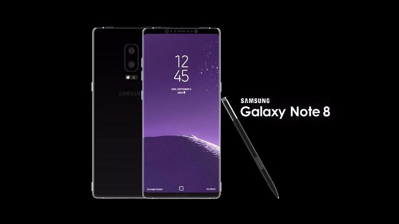 Samsung Galaxy Note 8 chỉ sử dụng Pin do Hàn & Nhật sản xuất
