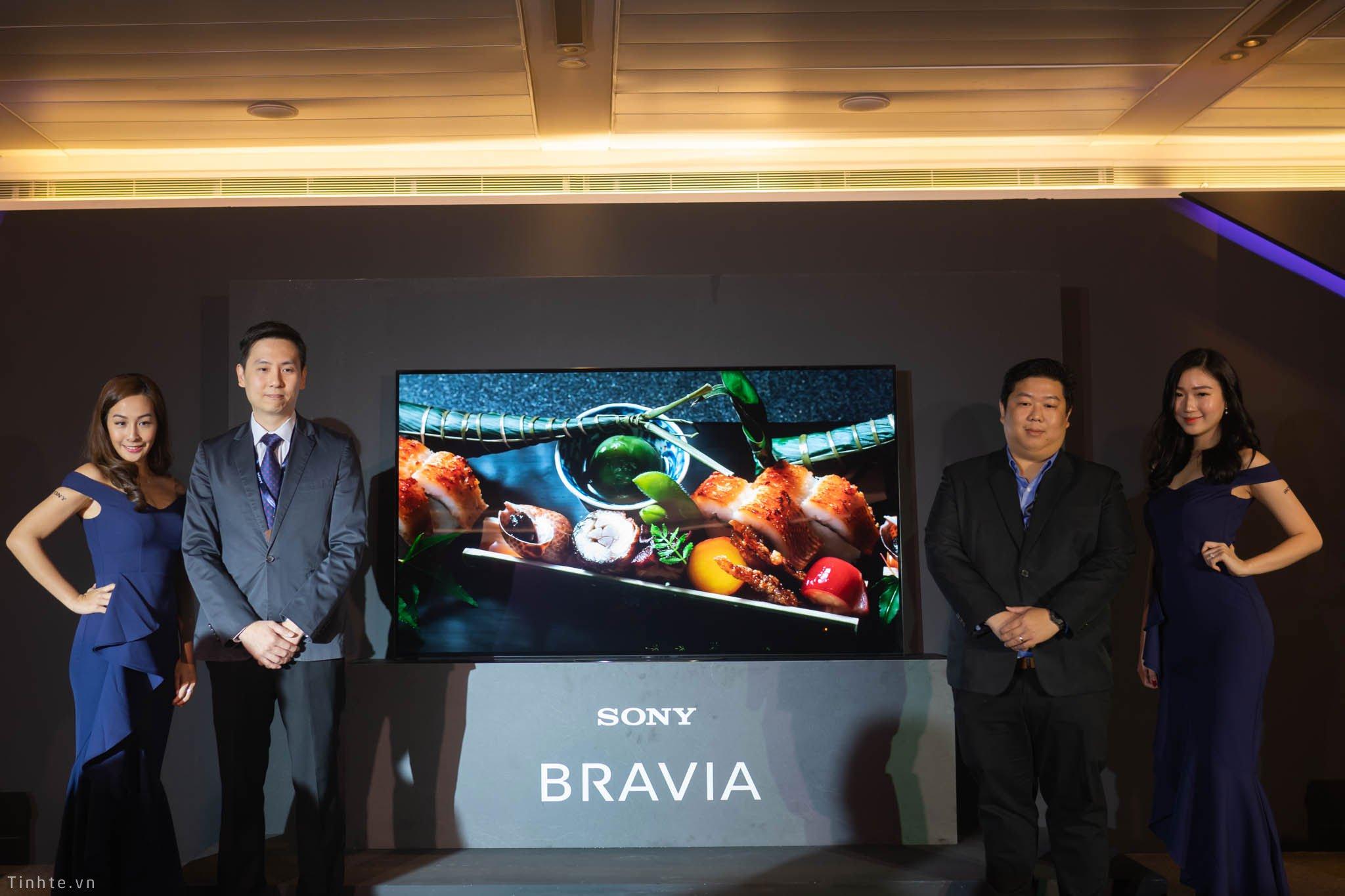 Sony ra mắt thế hệ TV Bravia 2019 tại Đông Nam Á: Nâng cấp