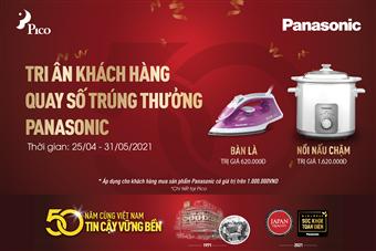 Chào hè cùng Panasonic – Rinh quà tiện ích