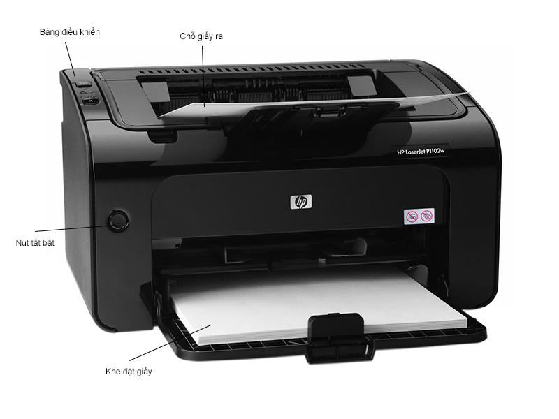 Máy in HP LaserJet  P1102W - Wifi