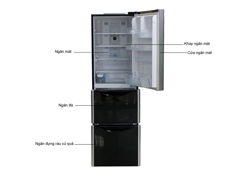 Tủ lạnh Hitachi SG31BPGGBK