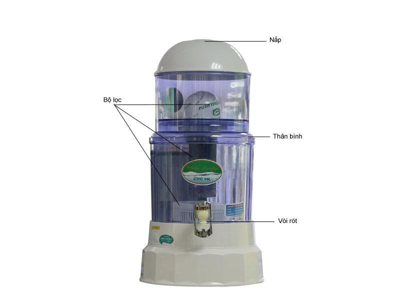 Bình lọc nước CNC CNC14L