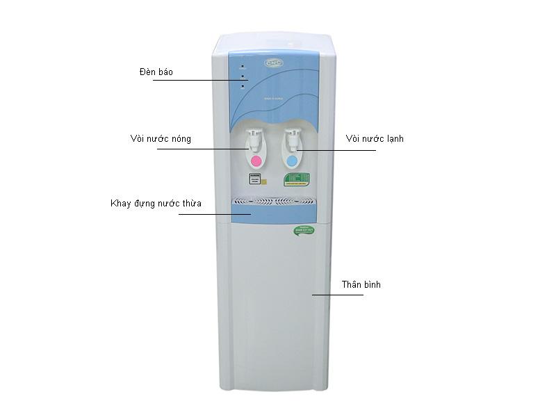 Máy lọc nước nóng lạnh CNC CNC3000POU
