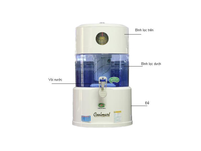 Bình lọc nước CNC COOLMARTGL