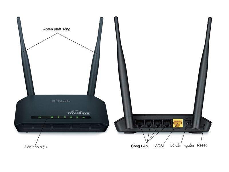 Bộ phát sóng Wireless DLink DIR605L