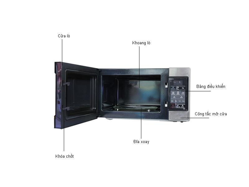 Lò Vi Sóng Samsung ME73M/XSV 20L