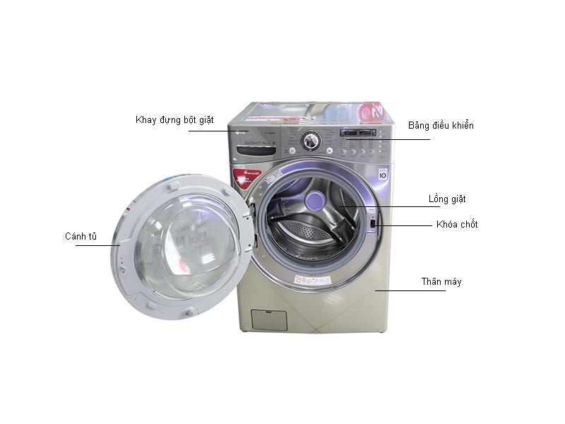 Máy giặt sấy LG WD35600