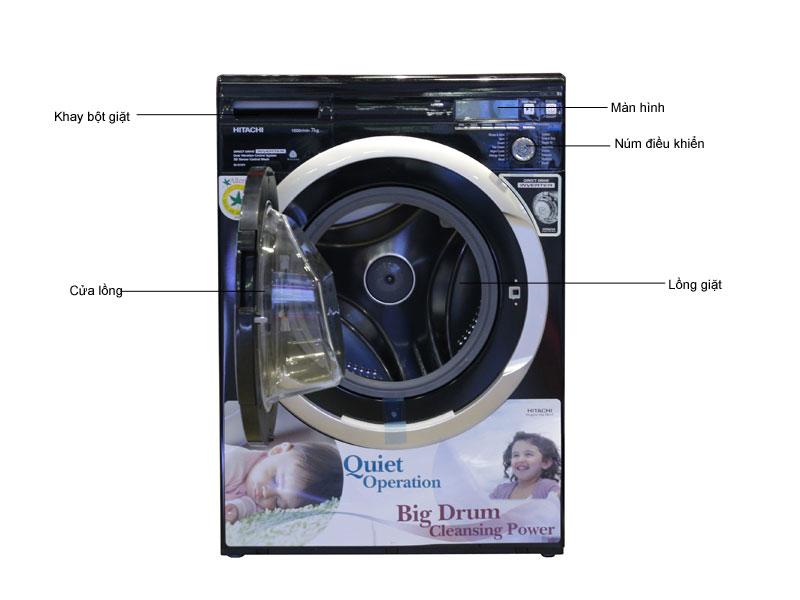 Máy giặt lồng ngang HITACHI BDW70PVBK
