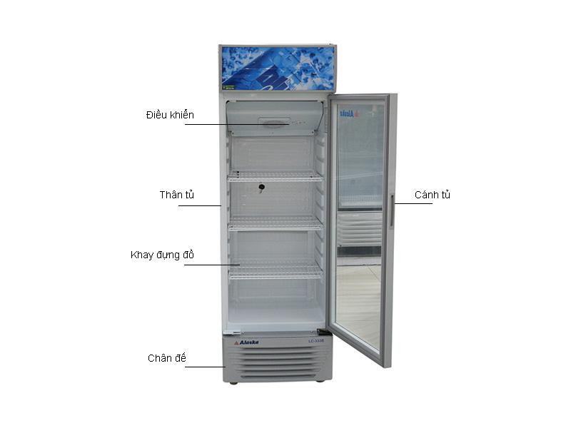 Tủ mát ALASKA LC333B