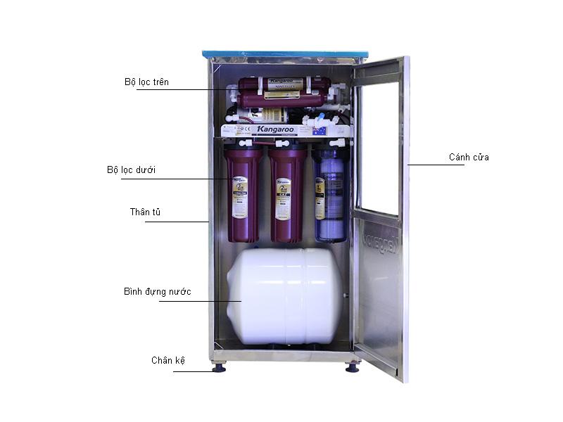 Máy lọc nước KANGAROO KG106INOX 6 lõi
