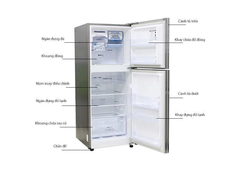 Tủ lạnh Samsung RT20FARWD