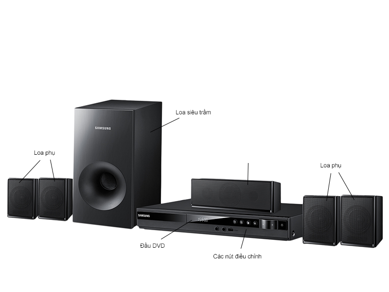Dàn âm thanh DVD Samsung HT-E350K