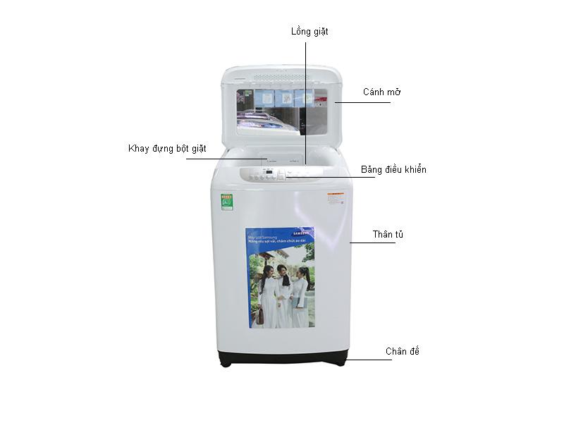Máy giặt Samsung WA90F5S3QRW 9 kg