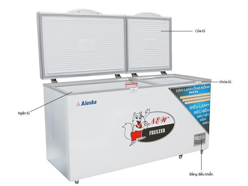 Tủ đông Alaska HB-650C