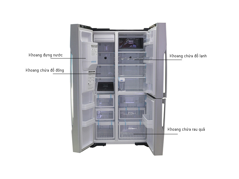 Tủ lạnh SBS Hitachi RM700GPGV2XMIR