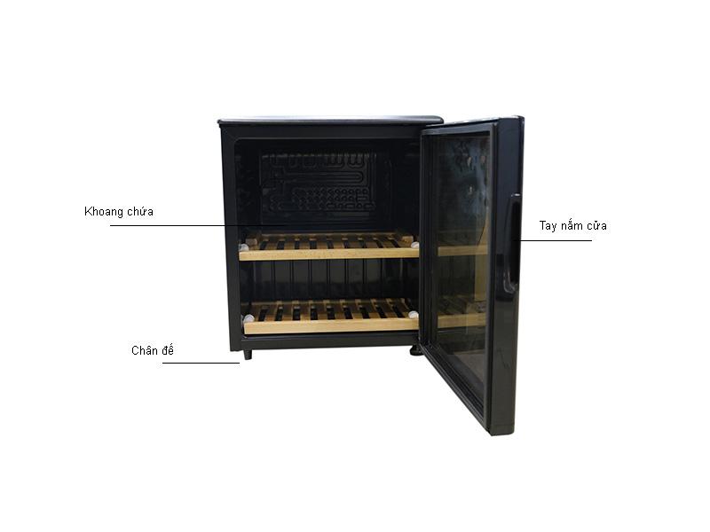 Tủ rượu kadeka KSJ115EW