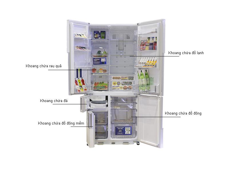 Tủ lạnh MITSUBISHI MRZ65WCWV