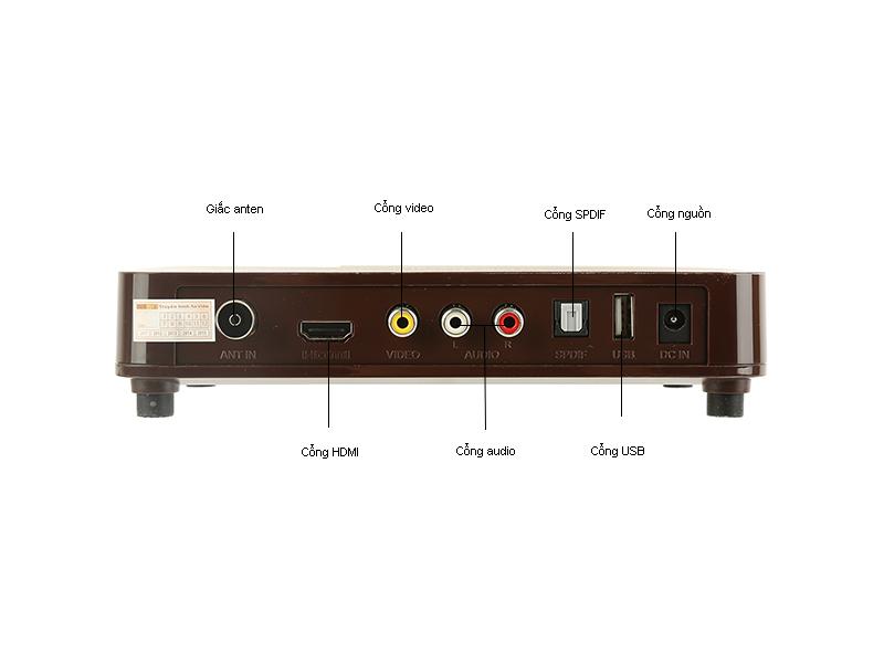 Bộ thiết bị thu DTT DVB-T2-HD