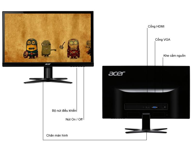 Màn hình máy tính Acer G206HQL - 19.5 inch