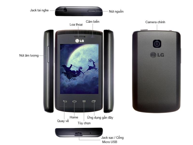 LG Optimus L1 II E410 - Đen
