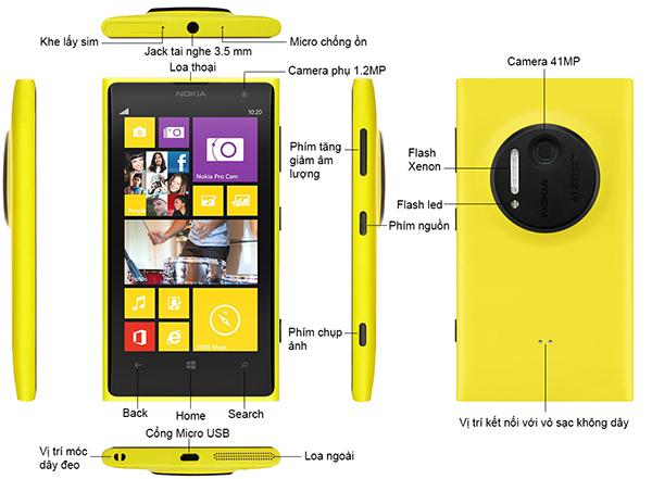 Nokia Lumia 1020 Trắng